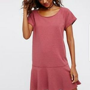 FREE PEOPLE Pick your place shirt dress w pockets